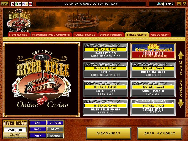 river belle casino free games